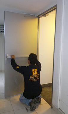 Industrias vad peru puertas cortafuego for Puertas contra incendios